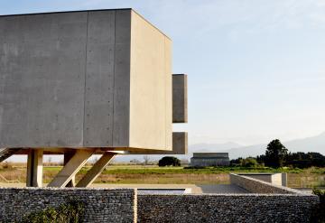 Le musée de Mariana et le parc archéologique de Lucciana, plaine côtière de la Marana-Casinca (Haute-Corse).