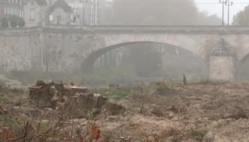 Ile de Loire entre duit Saint Charles et le pont George V