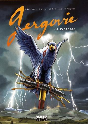 Affiche BD Gergovie. La victoire, 2016