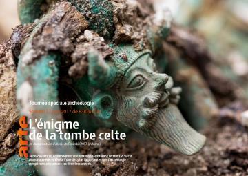 Affiche Journée spéciale archéologie Arte 2017