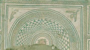 Des mosaïques gallo-romaines sous un collège à Besançon