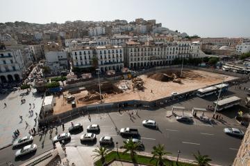 Aux origines d'Alger : un diagnostic archéologique place des Martyrs
