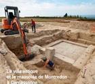 Carcassonne, visite du site archéologique du hameau de Montredon
