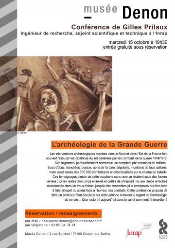 Affiche Gilles Prilaux Musée Denon