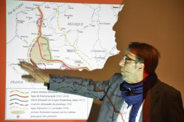 Visuel Gilles Prilaux, Archéologie de la Grande Guerre
