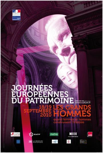 Portes ouvertes, expositions, conférences Journées européennes du patrimoine 18-19 septembre 2010