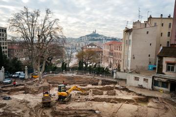 Le passé antique et médiéval  de l'Hôtel-Dieu à Marseille