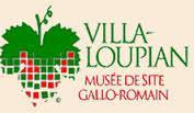 Logo Villa-Loupian Musée de site gallo-romain
