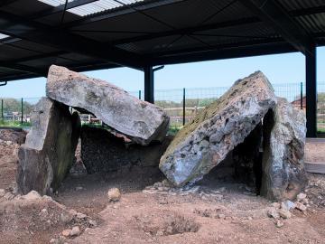 Découvrir : le musée des mégalithes de Changé (Eure-et-Loir)