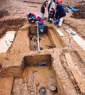 Découverte de tombes aristocratiques mérovingiennes à Saint-Dizier (Haute-Marne)