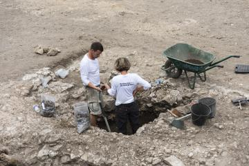 Fouille archéologique de la ville antique de Meaux