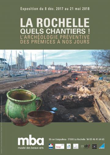 Affiche exposition La Rochelle