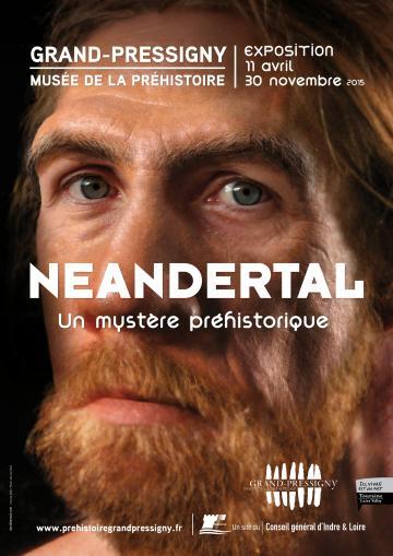 affiche neandertal grand-pressigny