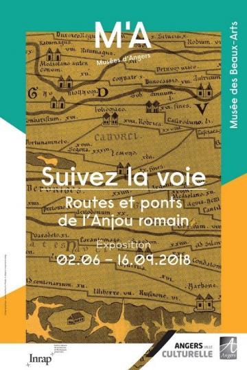 """Affiche de l'exposition """"Suivez La Voie"""""""