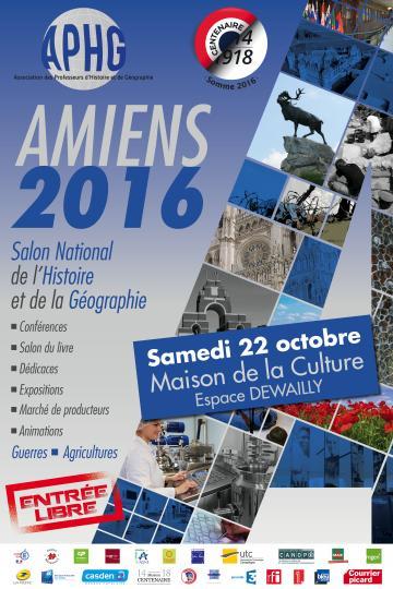 Affiche Festival de l'Histoire et de la Géographie