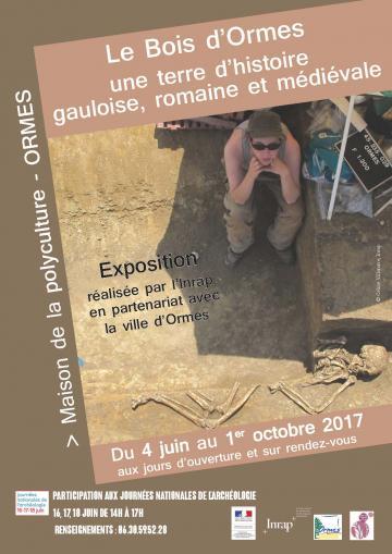 Affiche exposition Ormes