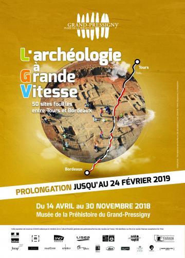 Exposition L'archéologie à grande vitesse