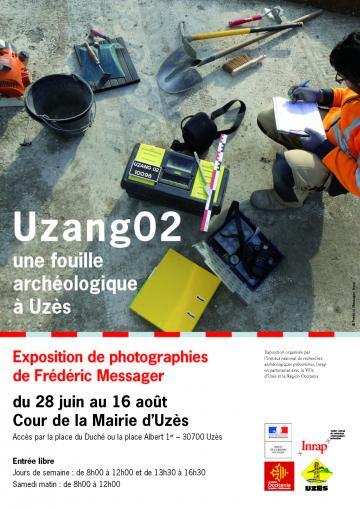 Affiche exposition photos Uzès
