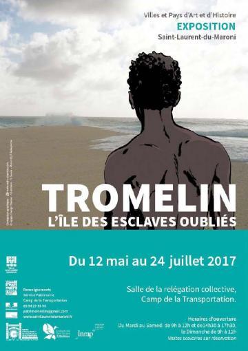 Affiche expo Tromelin Guyane
