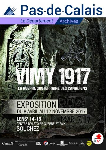 Affiche exposition Vimy