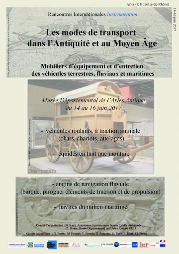 Affiche Rencontres Instrumentum, Arles 2017