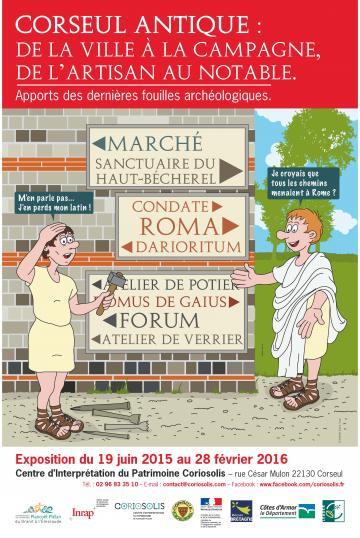 Affiche Corseul antique