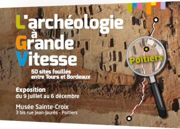 Affiche expo LGV Poitiers