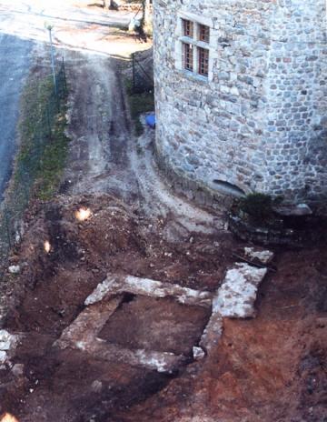 Le château de la Cheze