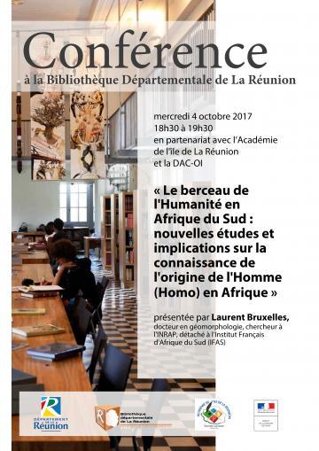 Conférence Laurent Bruxelles, 4 octobre 2017