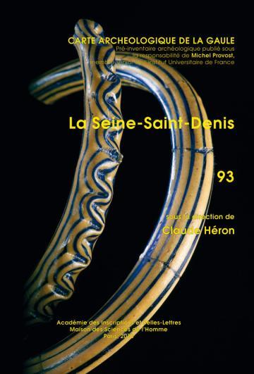 La Carte archéologique de la Gaule de la Seine-Saint-Denis
