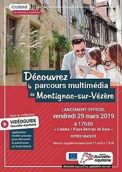 Lancement parcours multimédia Montignac