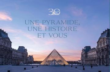 30 ans de la Pyramide du Louvre
