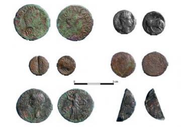 Les monnaies de Montignac Le Buy, échelle 1/1.