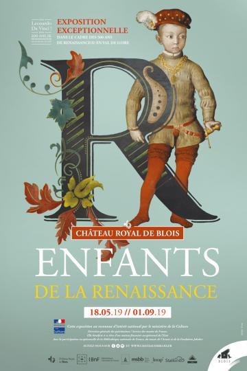Exposition Enfants de la Renaissance à Blois