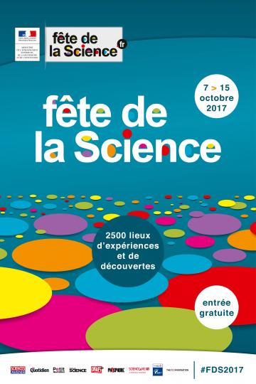 fete de la science 2017 visuel