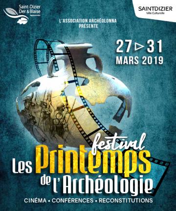 """Festival """"Les printemps de l'archéologie"""""""