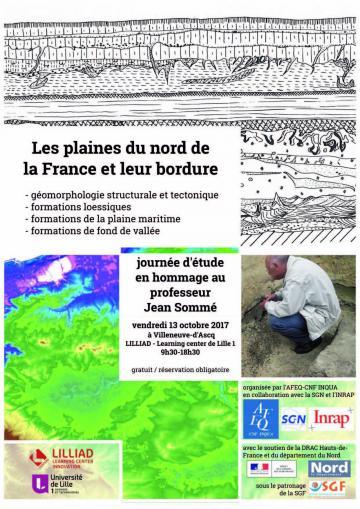Journée d'étude Les plaines du nord de la France et leur bordure