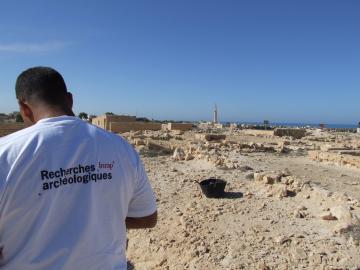 Au cœur de la nécropole d'Alexandrie