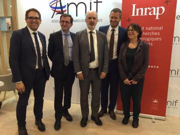L'AMIF et l'Inrap signent une convention de partenariat (2)