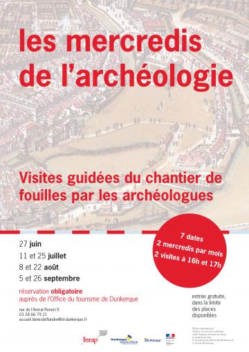 Les mercredis de l'archéologie à Dunkerque