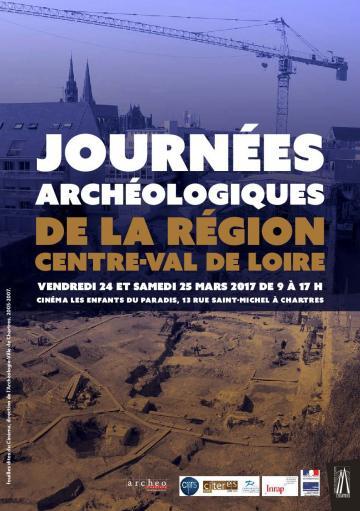 Journées archéologiques de la région Centre-Val de Loire 2017
