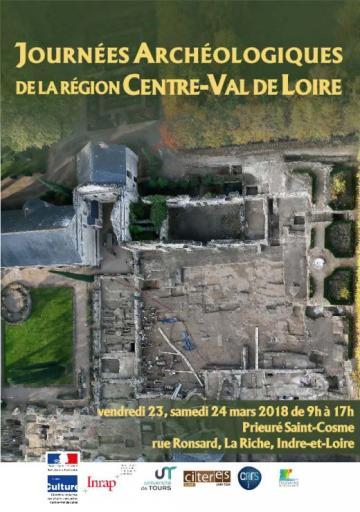Visuel journées archéologiques de la region centre-val de loire 2018