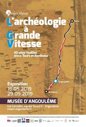 Expo L'archéologie à Grande Vitesse à Angoulême