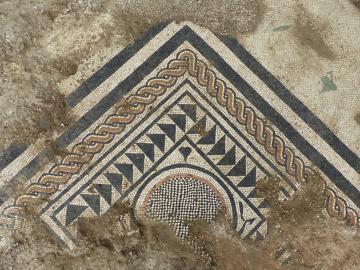Vue d'ensemble de la mosaïque
