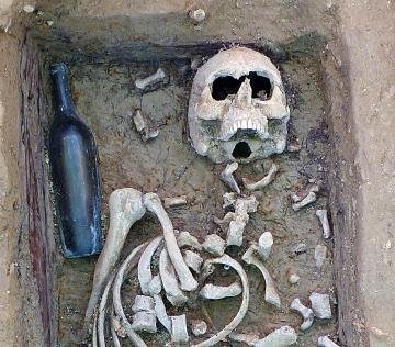 Sépulture du XIXe du cimetière des Crottes à Marseille