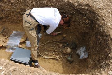 La nécropole antique et mérovingienne d'Evrecy