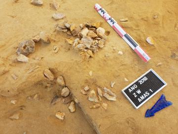 Des chasseurs-collecteurs de la fin du Paléolithique sous la ville d'Angoulême