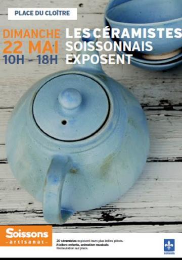 Marché de potiers à Soissons
