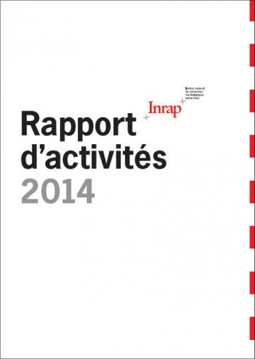 Rapport d'activités de l'Inrap 2014
