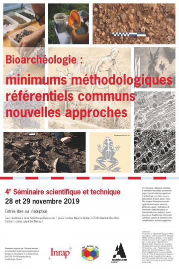 Affiche séminaire ST 4 Bioarchéologie